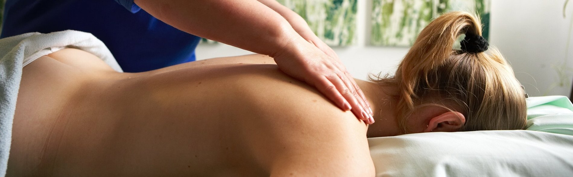 Massage der HWS